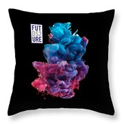 Colorful Stylish Abstract Throw Pillow