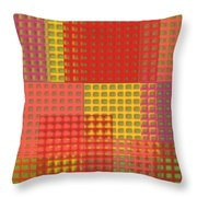 Colorful Weave Throw Pillow