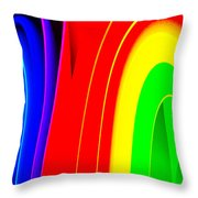 Colorful1 Throw Pillow