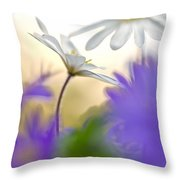 Colorfull Spring Throw Pillow