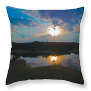 Colorized Throw Pillow