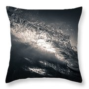 Colorless Window Throw Pillow