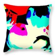 Colors 3 Throw Pillow