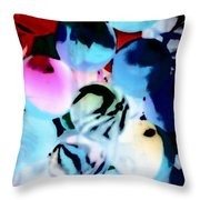 Colors 4 Throw Pillow