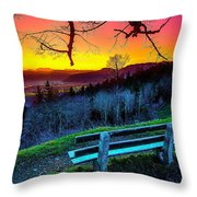 Colors And Light  Throw Pillow