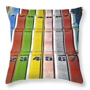 Colors Are A Photographers Life Throw Pillow