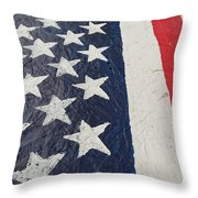 Colors Dont Run Throw Pillow