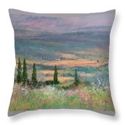 Colors In Tuscany Throw Pillow