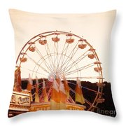 Colors Of August Throw Pillow