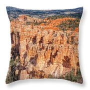 Colors Of Bryce Throw Pillow