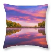 Colors Of Chatfield Throw Pillow