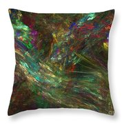 Colors Of Light Throw Pillow