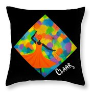 Colors Of Morning Throw Pillow