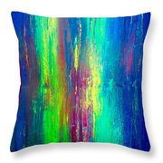 Colors Of My Mind Throw Pillow