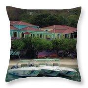 Colors Of St. John Us Virgin Islands Throw Pillow