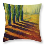 Colors Of Summer 4 Throw Pillow