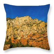 Colors Of The Southwest Throw Pillow
