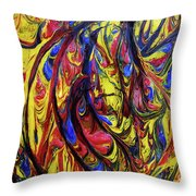Colors Of The Wind 1 Throw Pillow