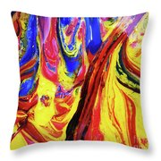 Colors Of The Wind 2 Throw Pillow
