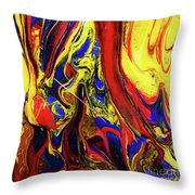 Colors Of The Wind 3 Throw Pillow