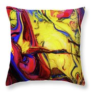 Colors Of The Wind 4 Throw Pillow