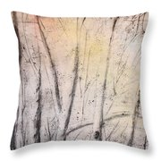 Colors Of Winter Throw Pillow