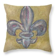 Colors On Paster Throw Pillow