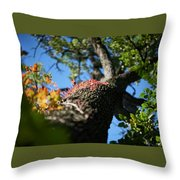Colors On The Side. Throw Pillow
