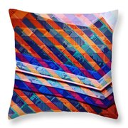 Colors Play Throw Pillow