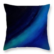 Colors Blue Point Of Origin 7/1/2015 Throw Pillow