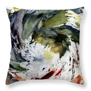 Colors - Spiral Throw Pillow