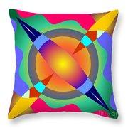 Colorscape 1-5 Throw Pillow