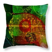 Colorscope  Throw Pillow