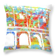 Colosseum - Colorsplash Throw Pillow