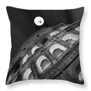 Colosseum Panorama Throw Pillow