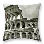 Colosseum  Rome Throw Pillow by Joana Kruse