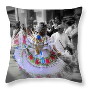 Colour In Motion..... Throw Pillow
