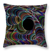 Colour My World Throw Pillow