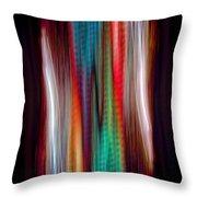 Colour Stream Throw Pillow