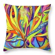 Colourful 2009 Throw Pillow
