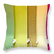 Colourful Blind Throw Pillow