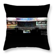 Colourful Caddy Throw Pillow