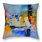 Colourful Christmas Throw Pillow