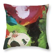Colourful Wasteland Throw Pillow