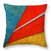 Colours And Shapes Throw Pillow