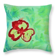 Colours At Play Throw Pillow
