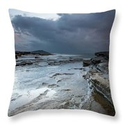 Colours Of A Storm - Seascape Throw Pillow