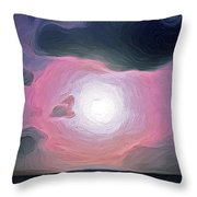 Colours Of The Caribbean Throw Pillow