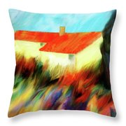 Colours Of The Wind Throw Pillow