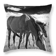 Colt 013 Throw Pillow